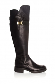 What For |  Leather boots Brigitte | black  | Picture 1