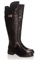 What For |  Leather boots Brigitte | black  | Picture 4