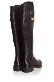What For |  Leather boots Brigitte | black  | Picture 5