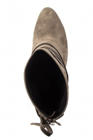 What For |  Leather ankle boots Micky | grey  | Picture 7