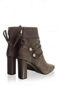 What For |  Leather ankle boots Micky | grey  | Picture 6