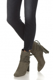 What For |  Leather ankle boots Micky | grey  | Picture 3