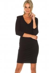 Patrizia Pepe |  Dress Soiree | black  | Picture 2
