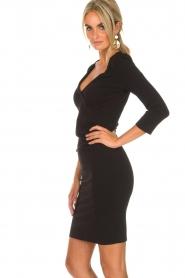 Patrizia Pepe |  Dress Soiree | black  | Picture 3