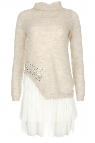 Patrizia Pepe |  Dress Luisa | natural  | Picture 1