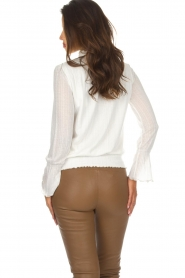 Patrizia Pepe |  Top Luciana | broken white  | Picture 6