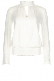 Patrizia Pepe |  Top Luciana | broken white  | Picture 1