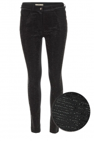 Patrizia Pepe | Jeans Liona | zwart  | Afbeelding 1