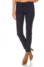 Patrizia Pepe |  Trousers Liz | blue  | Picture 3