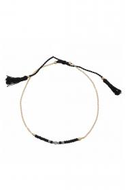 Tembi | Armband Lulu Bar | zwart  | Afbeelding 1