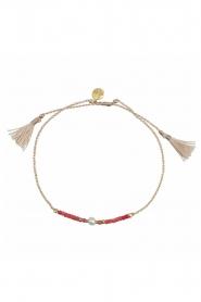 Tembi | Armband Lulu Bar | rood  | Afbeelding 2