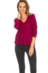 Des Petits Hauts |  Sweater Dolivia | pink  | Picture 2