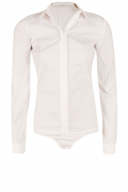 Patrizia Pepe |  Body blouse Esra | white  | Picture 1