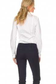 Patrizia Pepe |  Body blouse Esra | white  | Picture 4