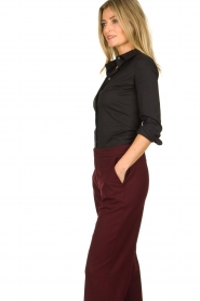 Patrizia Pepe |  Body blouse Esra | black  | Picture 4
