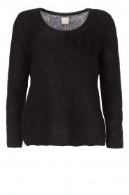 Des Petits Hauts |  Sweater Colina | black  | Picture 1