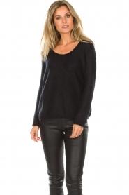 Des Petits Hauts |  Sweater Colina | black  | Picture 4