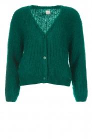 Des Petits Hauts |  Cardigan Buliette | green  | Picture 1