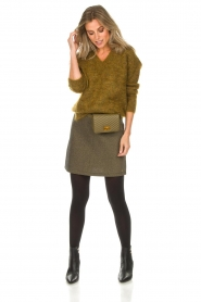 Des Petits Hauts |  Sweater Amberieu | green  | Picture 3