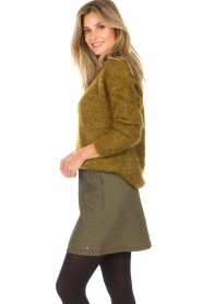 Des Petits Hauts |  Sweater Amberieu | green  | Picture 4