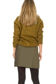 Des Petits Hauts |  Sweater Amberieu | green  | Picture 5
