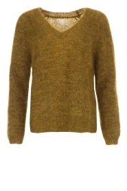 Des Petits Hauts |  Sweater Amberieu | green  | Picture 1