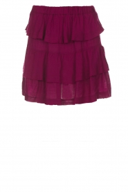 IRO |  Skirt Jiga | bordeaux  | Picture 1