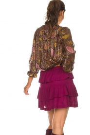 IRO |  Skirt Jiga | bordeaux  | Picture 5