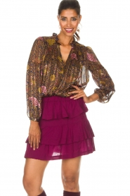 IRO |  Skirt Jiga | bordeaux  | Picture 2