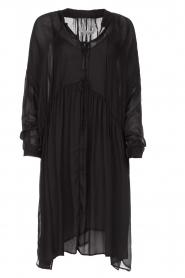 IRO |  Oversized dress Dolls | black  | Picture 1