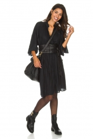 IRO |  Oversized dress Dolls | black  | Picture 3