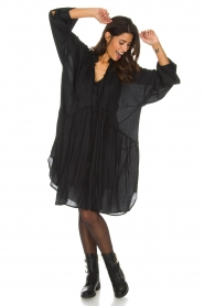 IRO |  Oversized dress Dolls | black  | Picture 6