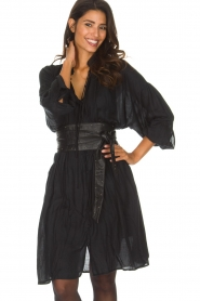 IRO |  Oversized dress Dolls | black  | Picture 2