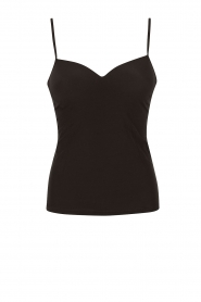 Hanro |  Padded bra top Allure | black  | Picture 1