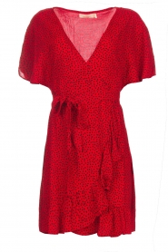 BEACHGOLD |  Dress Doris | red  | Picture 1