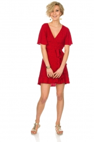 BEACHGOLD |  Dress Doris | red  | Picture 3