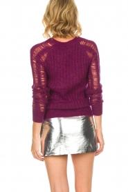 IRO |  Sweater Off | purple  | Picture 6