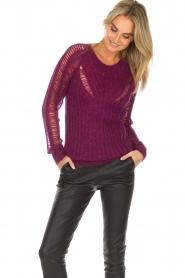 IRO |  Sweater Off | purple  | Picture 2