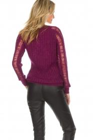 IRO |  Sweater Off | purple  | Picture 5