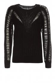 IRO |  Sweater Off | black  | Picture 1