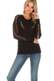 IRO |  Sweater Off | black  | Picture 2