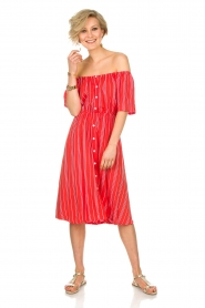 BEACHGOLD |  Dress Vanessa | red  | Picture 3