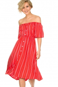 BEACHGOLD |  Dress Vanessa | red  | Picture 2