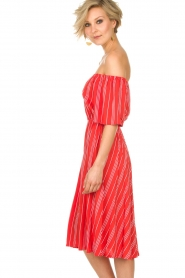 BEACHGOLD |  Dress Vanessa | red  | Picture 4