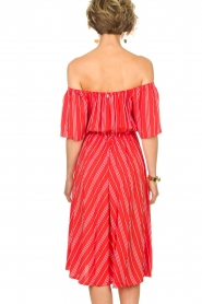 BEACHGOLD |  Dress Vanessa | red  | Picture 5