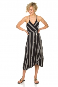 BEACHGOLD |  Maxi dress Penelope | black  | Picture 2