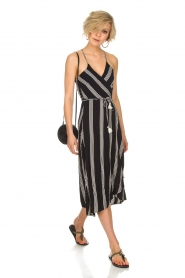 BEACHGOLD |  Maxi dress Penelope | black  | Picture 3
