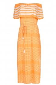 BEACHGOLD |  Maxi-dress Kelly | orange  | Picture 1