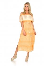 BEACHGOLD |  Maxi-dress Kelly | orange  | Picture 3