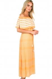 BEACHGOLD |  Maxi-dress Kelly | orange  | Picture 4